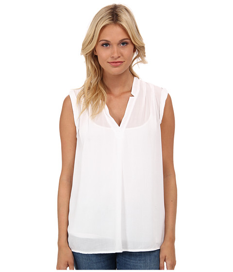 Imbracaminte Femei Splendid Rayon Voile Tank Top White 1