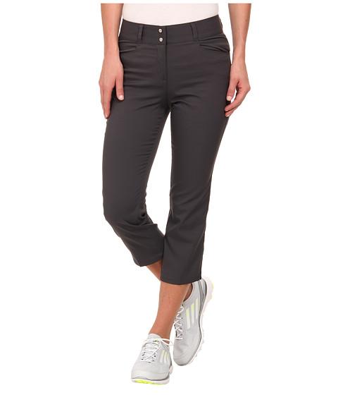 Imbracaminte Femei adidas Golf Essentials Lightweight Capri '15 Dark Grey Heather Solid Grey