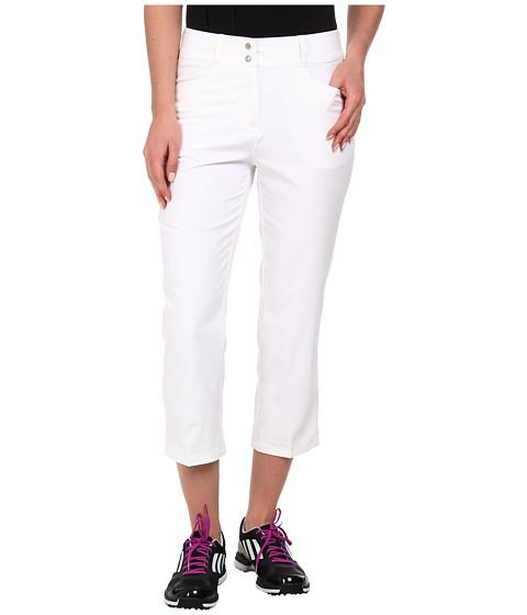 Imbracaminte Femei adidas Golf Essentials Lightweight Capri '15 White