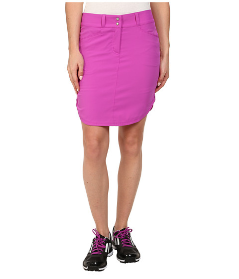 Imbracaminte Femei adidas Golf Essentials 3-Stripes Skort '15 Flash Pink