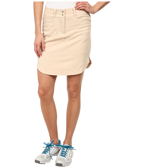 Imbracaminte Femei adidas Golf Essentials 3-Stripes Skort '15 Lite Khaki