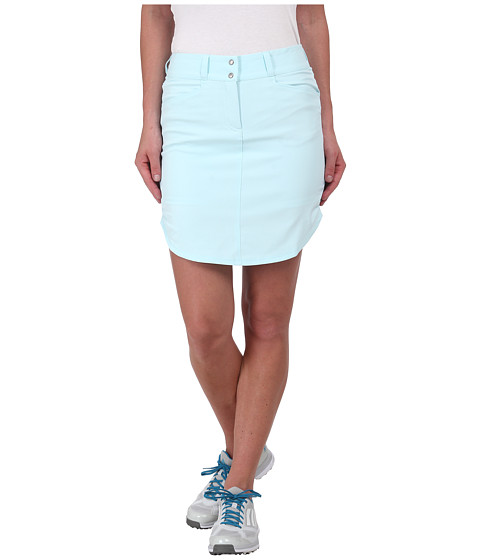 Imbracaminte Femei adidas Golf Essentials 3-Stripes Skort '15 Ice Blue