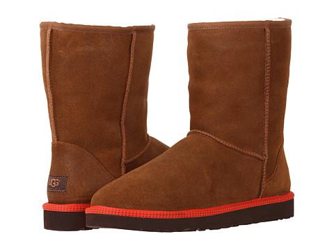 Incaltaminte Barbati UGG Classic Short Leather Chestnut LeatherSheepskin