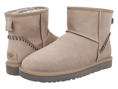 Incaltaminte Barbati UGG Classic Mini Deco Stone Leather