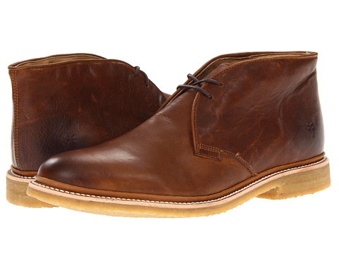 Incaltaminte Barbati Frye James Crepe Chukka Cognac Soft Vintage Leather