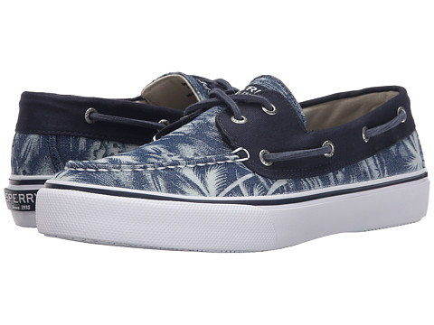 Incaltaminte Barbati Sperry Top-Sider Bahama 2-Eye Chambray Navy Palm