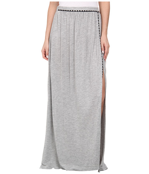 Imbracaminte Femei Brigitte Bailey Bombe Slit Maxi Skirt Grey Combo