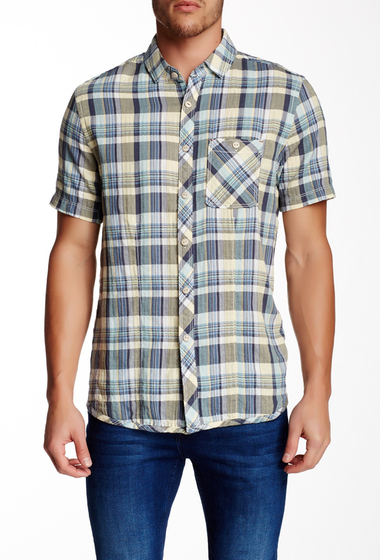 Imbracaminte Barbati Jeremiah Fletcher Plaid Short Sleeve Regular Fit Shirt BONNET