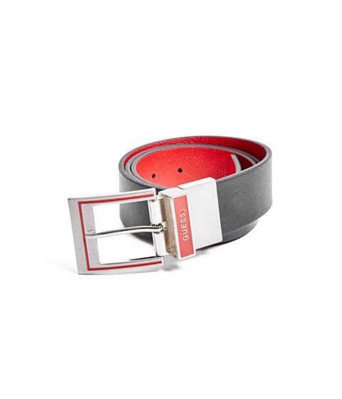Ochelari Femei GUESS Black and Red Reversible Belt cider