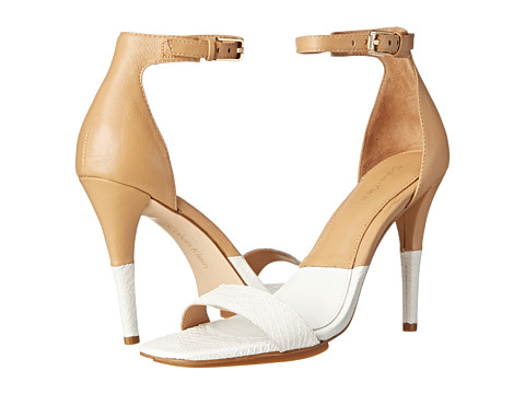 Incaltaminte Femei Calvin Klein Shanti Platinum WhiteSand Gold Nappa