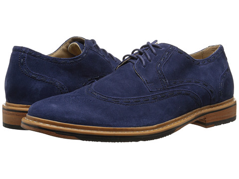 Incaltaminte Barbati Rockport Parker Hill Wingtip Oxford Peacoat