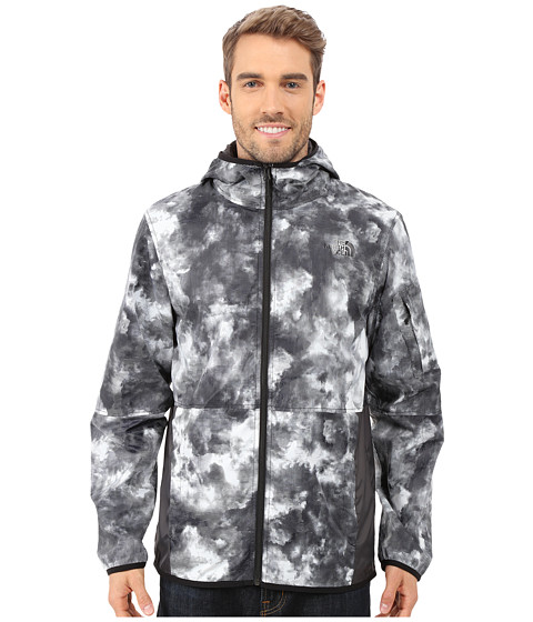 Imbracaminte Barbati The North Face Chicago Wind Jacket TNF Black Cirrus Print