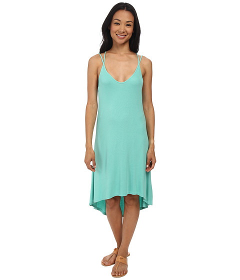 Imbracaminte Femei Splendid 2x1 Rib Dress Sea Green