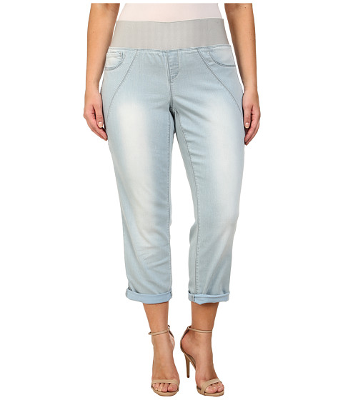 Imbracaminte Femei DKNY Plus Size Sculpted Leggings Rolled Crop in Toned Wash Toned Wash