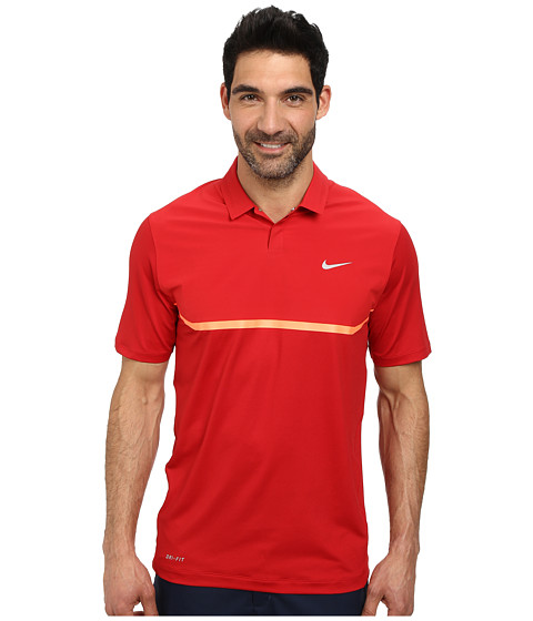 Imbracaminte Barbati Nike Elite Cool Carbon Polo Gym RedHot LavaWolf Grey