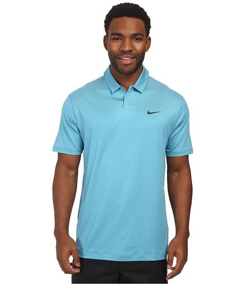 Imbracaminte Barbati Nike Golf Control Stripe Polo Light Blue LacquerAnthracite