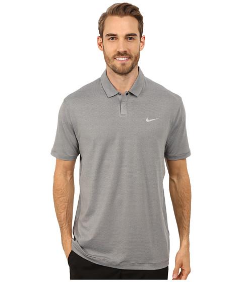 Imbracaminte Barbati Nike Golf Control Stripe Polo Dark GreyWolf Grey