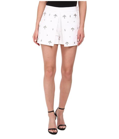 Imbracaminte Femei MICHAEL Michael Kors Embellished Pleated Skort White
