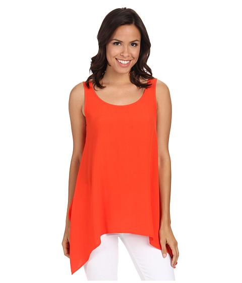 Imbracaminte femei Karen Kane Crepe Handkerchief Tank Top Orange
