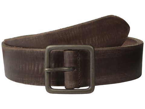 Accesorii Barbati John Varvatos 40mm Burnished Leather w Center Bar Buckle Tan