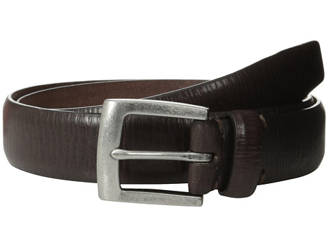 Accesorii Barbati John Varvatos 30mm Boarded Veg Harness Buckle Chocolate