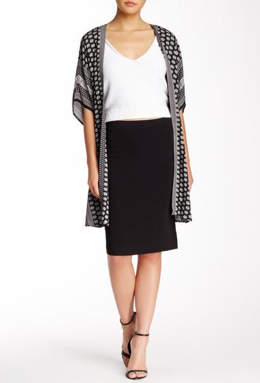 Imbracaminte Femei Max Studio Knee Slit Pencil Skirt BLACK