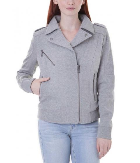Imbracaminte Femei US Polo Assn QUILTED BIKER JACKET Heather Gray