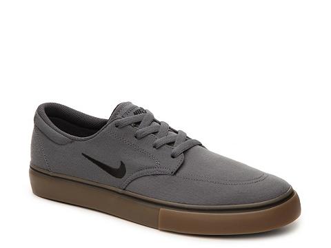 Incaltaminte Barbati Nike SB Clutch Canvas Sneaker - Mens Grey
