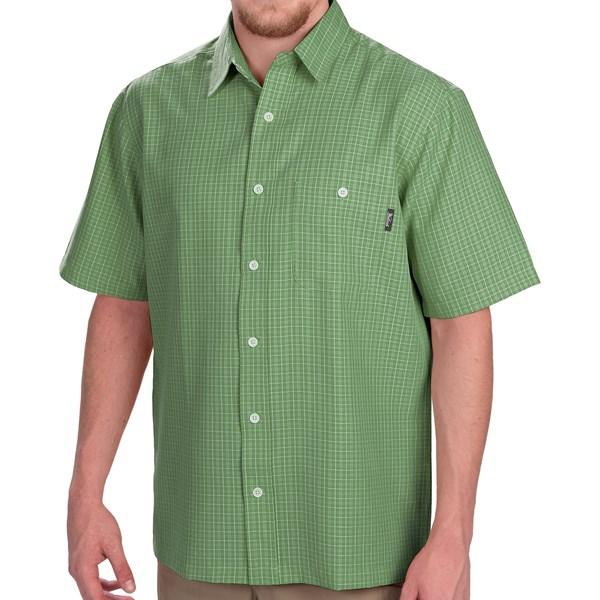 Imbracaminte Barbati Woolrich Vireo Shirt - Short Sleeve FERN (02)