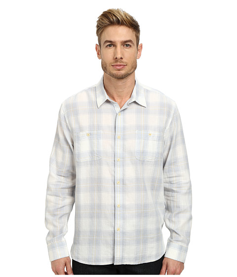 Imbracaminte Barbati Lucky Brand Deep Creek Workwear Shirt WhiteBlue