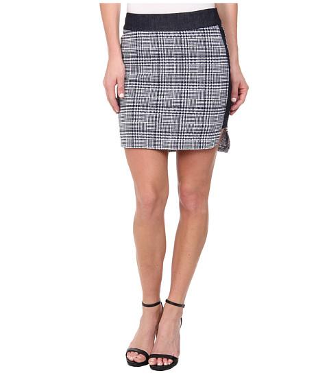 Imbracaminte Femei BCBGeneration High-Low Hem Sporty Skirt Navy Combo