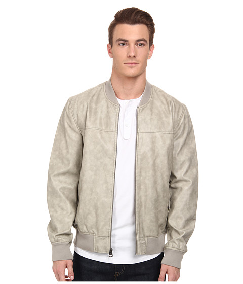 Imbracaminte Barbati Levi's Faux Leather Varsity Bomber Cement