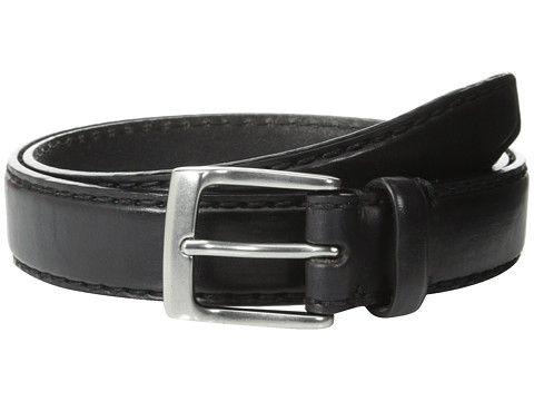 Accesorii Barbati John Varvatos 30mm Bombay Edge Stitch Brush Off Veg Buckle Black