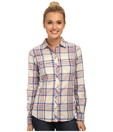 Imbracaminte Femei The North Face Baylyn Plaid Shirt Vintage BlueVintage White