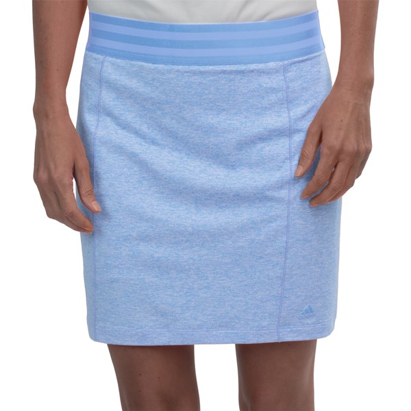 Imbracaminte Femei adidas golf Essentials Rangewear Skort BAHIA LIGHT BLUE HEATHER (12)