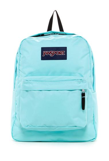Genti Femei JanSport Superbreak Backpack AQUA DASH