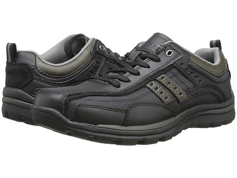 Incaltaminte Barbati SKECHERS Relaxed Fit Superior - Bonical Black