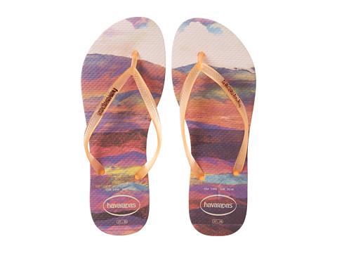 Incaltaminte Femei Havaianas Slim Paisage Flip Flops Light Pink