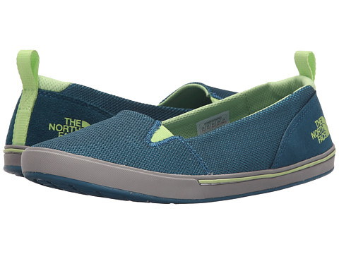 Incaltaminte Femei The North Face Base Camp Lite Skimmer II BluebirdBudding Green (Prior Season)
