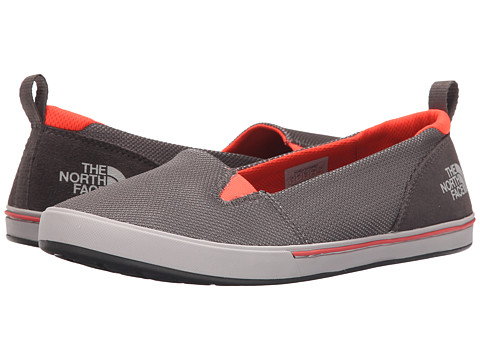 Incaltaminte Femei The North Face Base Camp Lite Skimmer II Dark Gull GreyTropical Coral (Prior Season)