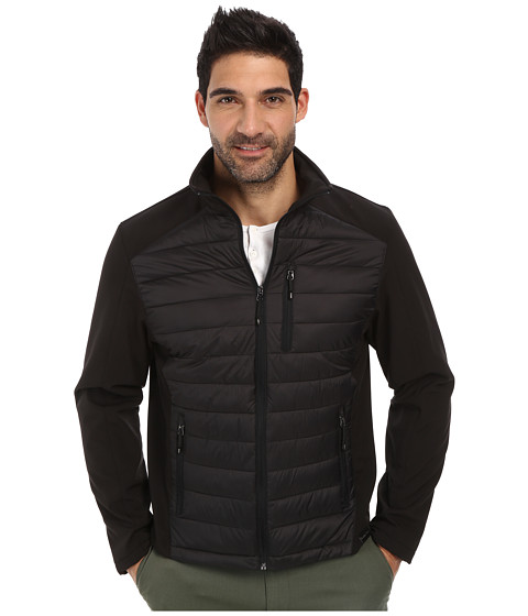 Imbracaminte Barbati Calvin Klein Mixed Media Jacket Black