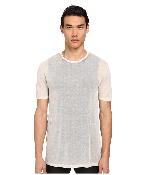 Imbracaminte Barbati Costume National Double Layered Knit T-Shirt Sand