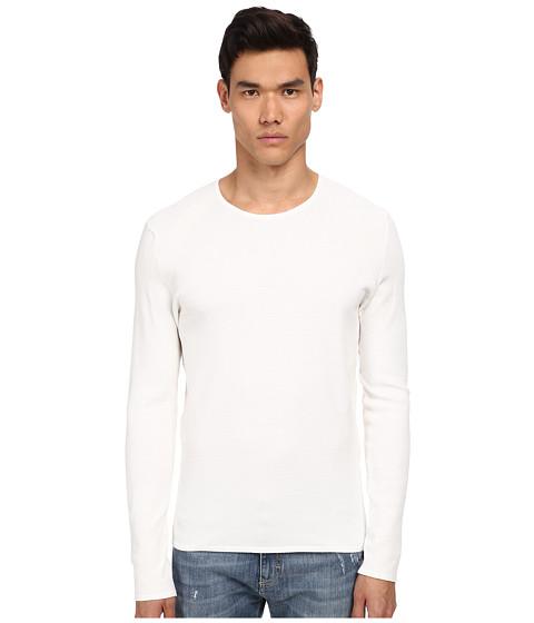 Imbracaminte Barbati Bikkembergs Honeycomb Sweater White