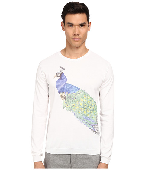 Imbracaminte Barbati Bikkembergs Peacock Sweater White