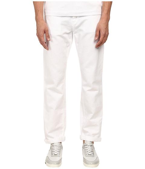 Imbracaminte Barbati Bikkembergs Five-Pocket White Jean White