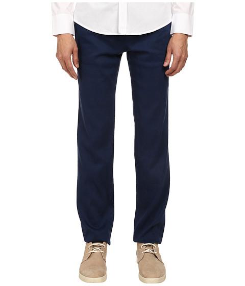Imbracaminte Barbati Bikkembergs Linen Trouser Pant Blue