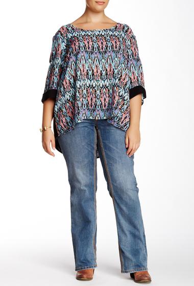 Imbracaminte Femei Seven7 Jeans Bootcut Jean Plus Size TAOS BLUE