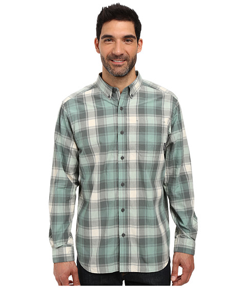 Imbracaminte Barbati Columbia Rapid Riverstrade Long Sleeve Shirt Dusty Green Square Grid