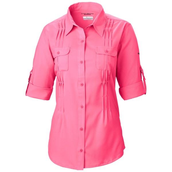 Imbracaminte Femei Columbia Sun Goddess II Omni-Wick Shirt - UPF 40 Long Sleeve PALE PURPLE (08)