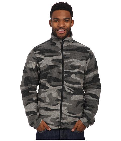 Imbracaminte Barbati Columbia Steens Mountaintrade Print Jacket Black Tweed Camo